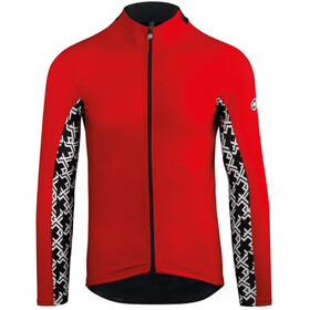 assos Mille GT Langermede Sykkeltrøyer Herre national red